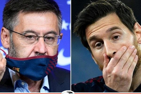 """""""Hãm hại"""" Messi, cựu Chủ tịch Barcelona bị bắt giữ"""