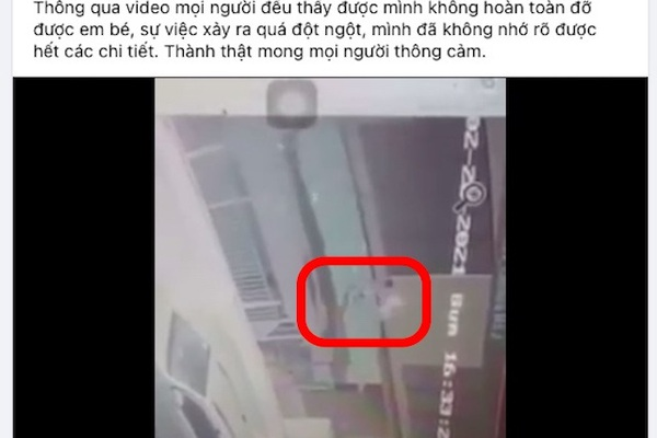 Dân mạng phân tích clip, bảo vệ 'người hùng' đỡ em bé rơi từ tầng 12
