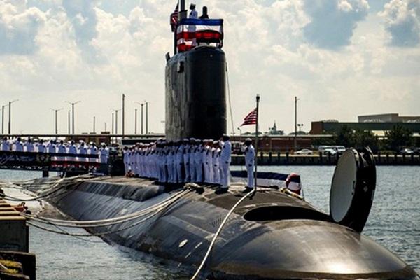 Tàu ngầm Mỹ 'gài bẫy' tàu chiến Nga ở Syria