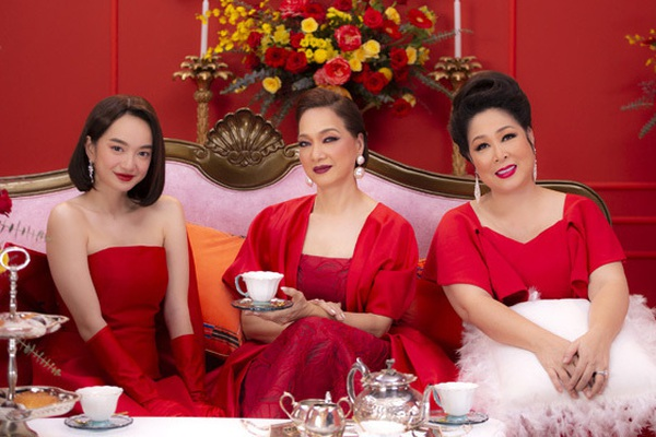 """Kaity Nguyễn không hề """"lép vế"""" khi diễn cùng """"gái già lắm chiêu"""" Lê Khanh, Hồng Vân"""