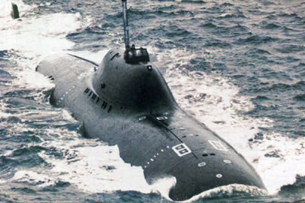 Tàu ngầm hạt nhân nhanh nhất thế giới của Liên Xô: Mỹ và phương Tây e sợ