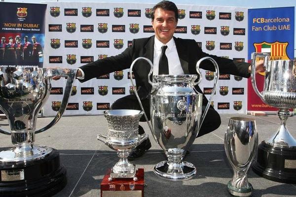 """Vì sao Laporta """"1 mình 1 ngựa"""" trong cuộc đua chủ tịch Barcelona?"""