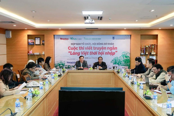 """41 tác phẩm xuất sắc lọt vào chung khảo cuộc thi viết truyện ngắn """"Làng Việt thời hội nhập"""""""