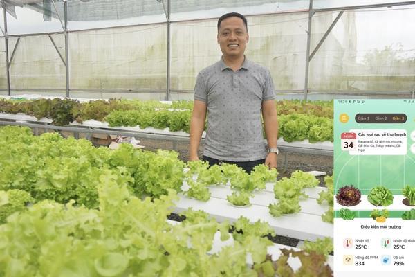 Đà Nẵng: Bỏ chốn phồn hoa, 8X về quê trồng vườn rau  thông minh 4.0 đầu tiên tại Việt Nam