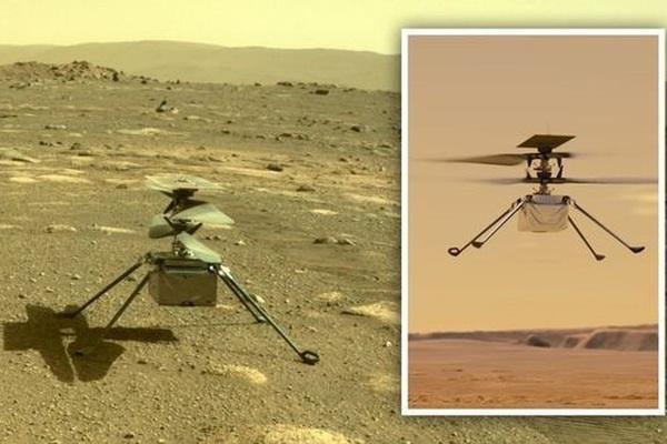Chuyến bay lịch sử của chiếc trực thăng NASA thám hiểm sao Hỏa đã thành công