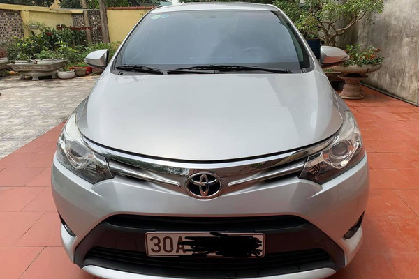 Toyota Vios số tự động chạy 6 năm, chủ xe rao bán giá choáng
