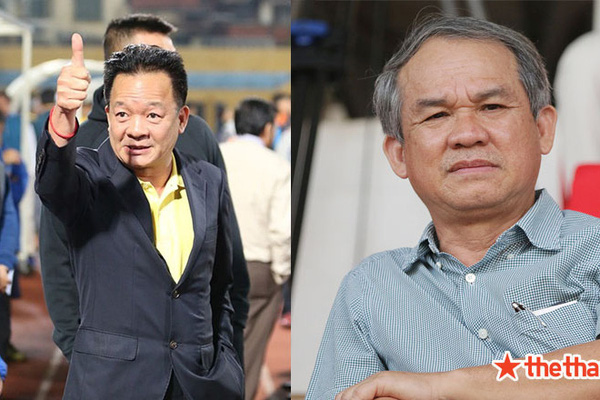 Bầu Đức và bầu Hiển sẽ cùng nhau dự khán đại chiến HAGL - Hà Nội FC?