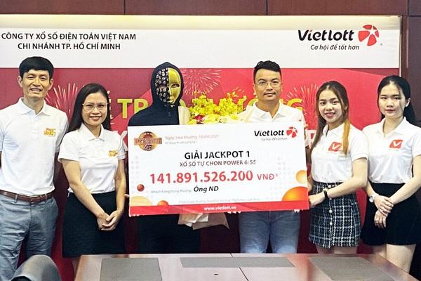 Mua vé Vietlott trên My Viettel trúng giải Jackpot 142 tỷ