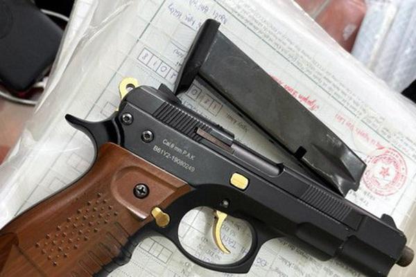 Bắt nghi phạm dùng súng bắn người trọng thương rồi bỏ trốn