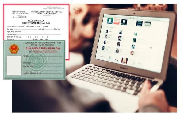 Cấp giấy xác nhận số CMND qua mạng từ Quý II/2021