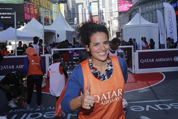 Nữ đội trưởng xinh đẹp, quyền lực nhất bóng đá Palestine là ai?