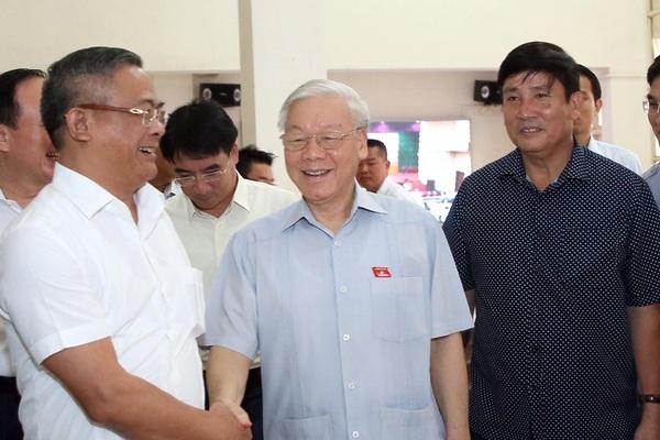 Tổng Bí thư Nguyễn Phú Trọng, Chủ tịch nước Nguyễn Xuân Phúc và các Ủy viên Bộ Chính trị ứng cử ĐBQH tại đâu?