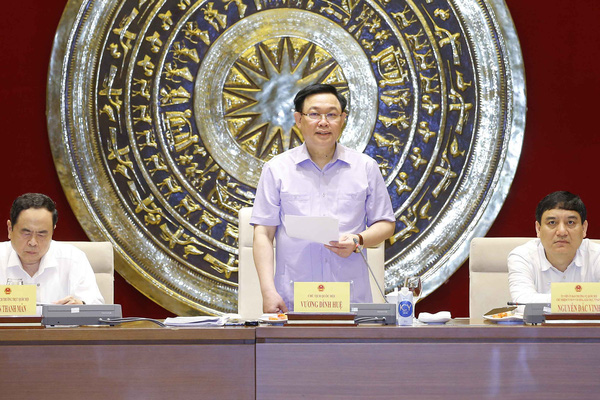 Chủ tịch Quốc hội Vương Đình Huệ: Chống lạm quyền trong thực hiện giám sát