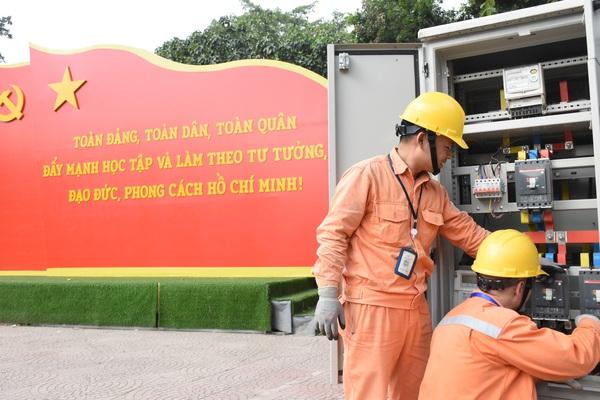 EVNHANOI đảm bảo cung ứng điện an trong các ngày lễ