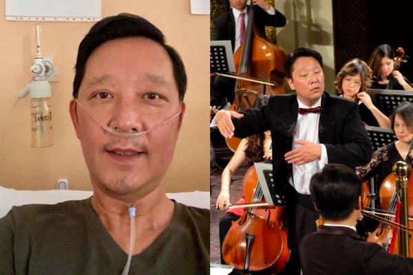 Nhạc trưởng Lê Phi Phi mắc Covid-19, giảm gần 10kg khiến khán giả lo lắng