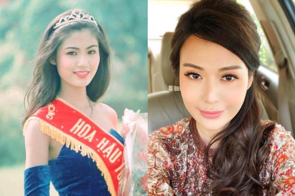 """Nhan sắc xinh đẹp của Hoa hậu Thu Thủy sau 27 năm đăng quang vẫn xứng danh """"đại mỹ nhân"""""""