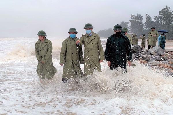 Quảng Xương, Triệu Sơn chủ động, ứng phó tốt với áp thấp nhiệt đới do bão số 8