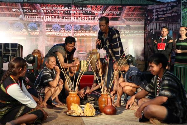 Lâm Đồng: Lễ cưới truyền thống của dân tộc K'Ho, nhà trai thách cưới nhà gái