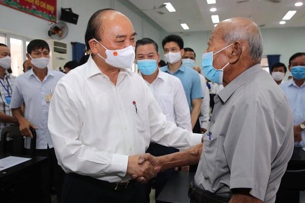 """Chủ tịch nước Nguyễn Xuân Phúc: """"Là đại biểu Quốc hội thì càng phải nêu gương... để phục vụ nhân dân"""""""