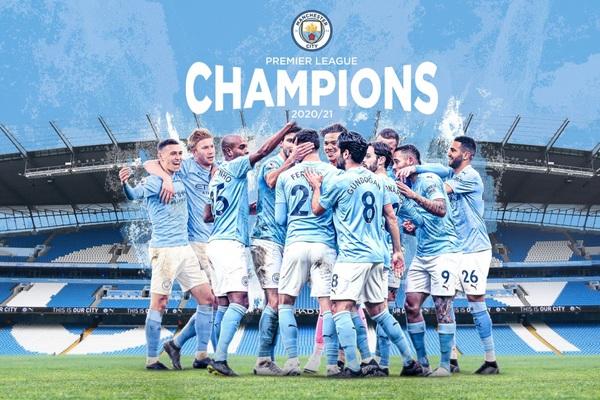 Vô địch Premier League, Man City cân bằng và lập 9 kỷ lục khủng