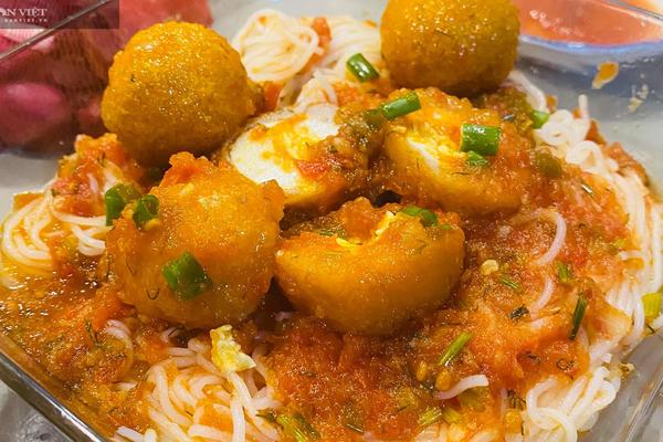 Mách cách làm chả cá thác lác bọc trứng cút sốt cà chua ngon tuyệt