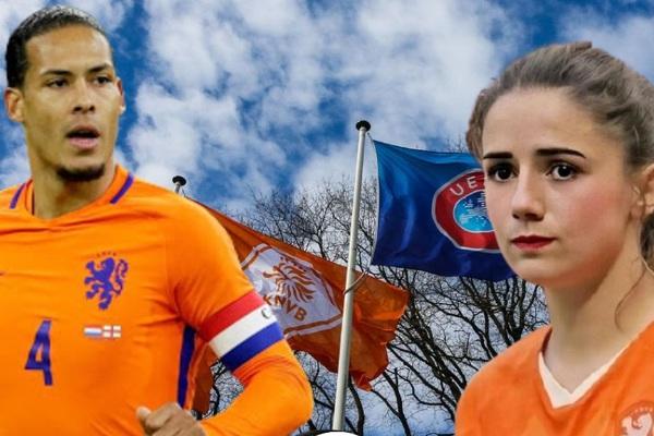 """Hà Lan ra quyết định lịch sử về bóng đá, nam nữ """"ngồi chung mâm"""""""
