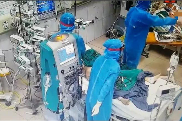 Cam go ở nơi điều trị bệnh nhân Covid-19 đông nhất Việt Nam