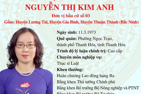 Ứng cử viên ĐBQH khóa XV Nguyễn Thị Kim Anh: Muốn xây dựng Bắc Ninh thành trung tâm nông nghiệp công nghệ cao