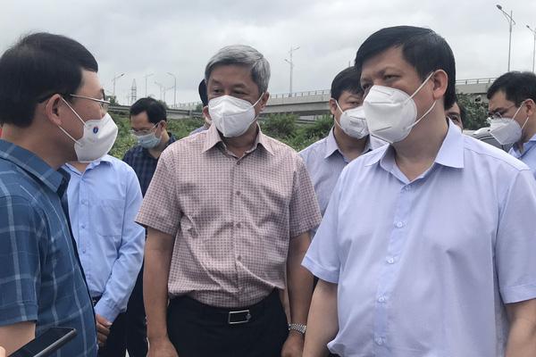 Bộ trưởng Bộ Y tế: Số ca Covid-19 ở Bắc Giang còn tăng, nguy cơ lây lan cộng đồng rất lớn