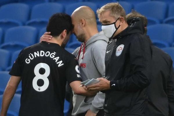 Man City thiệt đơn, thiệt kép sau thất bại trước Brighton