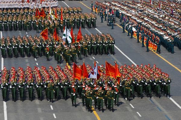 [TRỰC TIẾP] Lễ Duyệt binh kỷ niệm 76 năm Ngày chiến thắng tại Quảng trường Đỏ ở Moscow, Nga