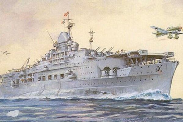 Tàu sân bay của phát xít Đức: Thế giới sợ hãi, chưa đánh đã... chìm
