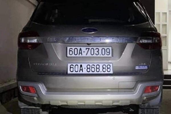 """Hai ô tô trùng biển số """"lộc phát"""" ở Đồng Nai: Công an tạm giữ chiếc xe Ford mang biển số giả"""