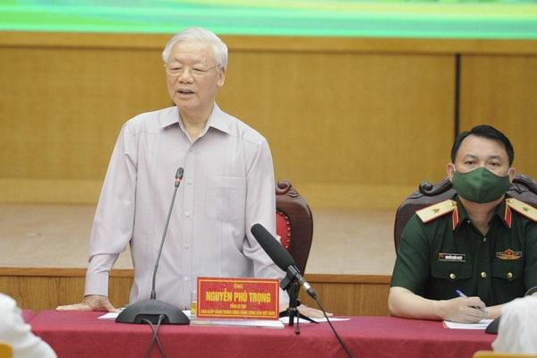 Tổng Bí thư Nguyễn Phú Trọng: Đại biểu Quốc hội phải thực sự là đại biểu do dân, vì dân