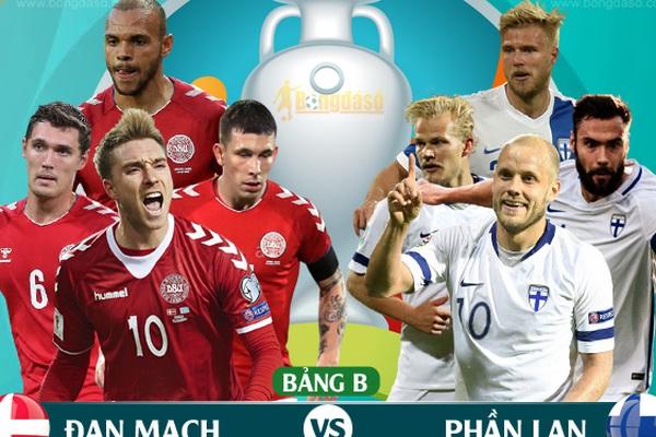 Xem trực tiếp Đan Mạch vs Phần Lan trên kênh nào?