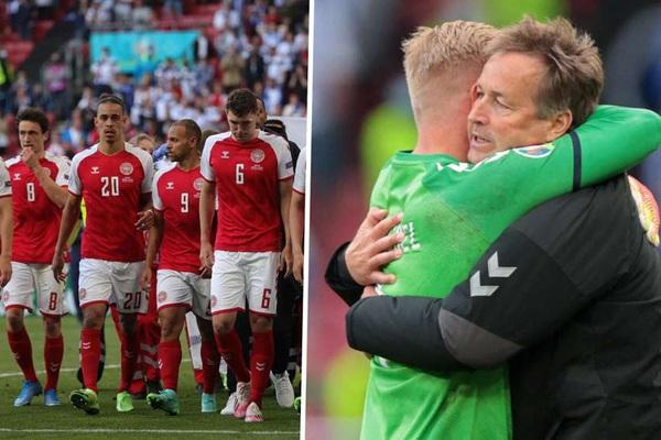 Vì sao Đan Mạch vẫn tiếp tục thi đấu sau cú sốc Eriksen?