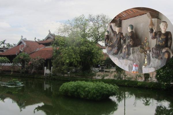 Chùa Nôm-ngôi chùa lưu giữ hồn quê Bắc bộ với số lượng tượng bằng đất cổ xưa nhất Việt Nam