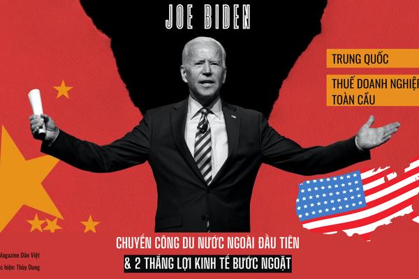Chuyến công du nước đầu tiên của Tổng thống Mỹ Biden và thắng lợi kinh tế bước ngoặt với Trung Quốc