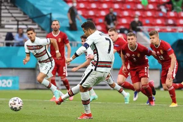 Kết quả, BXH EURO 2020 ngày 16/6: Ronaldo bùng nổ, Bồ Đào Nha vùi dập Hungary
