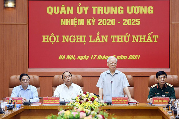 Bộ Chính trị chỉ định nhân sự Quân ủy Trung ương nhiệm kỳ mới
