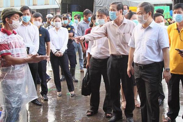 TP.HCM: Phát hiện trường hợp dương tính SARS-CoV-2 tại chợ đầu mối Bình Điền