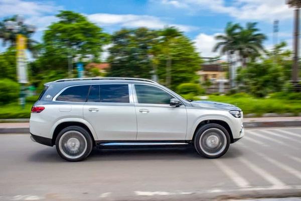 Xe của các ông chủ Mercedes Maybach GLS600 2021: Đẳng cấp Đức