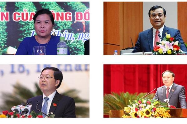 Chân dung 4 Bí thư Tỉnh ủy được bầu Chủ tịch HĐND tỉnh nhiệm kỳ mới