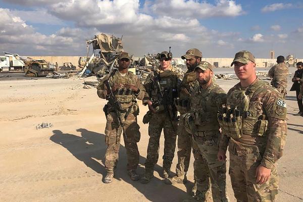 Máy bay không người lái tấn công gần nơi binh lính Mỹ đóng quân