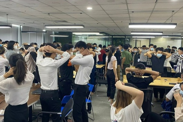 """Sàn tiền ảo """"khủng"""" ở Hà Nội đã bị Công an Hải Phòng đánh sập như thế nào?"""