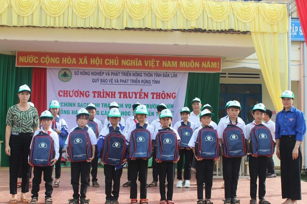 Hiệu quả từ chính sách chi trả dịch vụ môi trường rừng ở Đắk Lắk