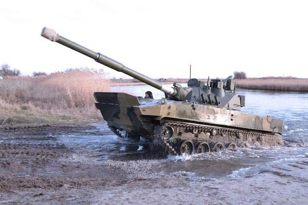 """Bảo bối mới của quân đội Nga """"Sprut"""" khiến người ta ớn lạnh"""