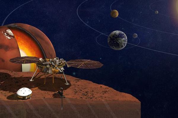 Bí mật lần đầu được tiết lộ về lõi của sao Hỏa
