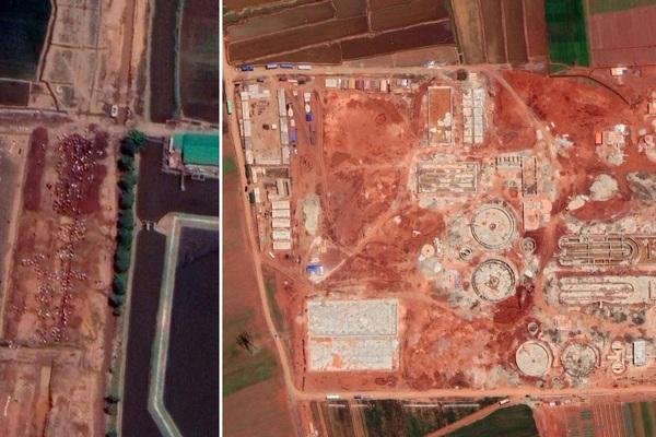Ảnh chụp từ vệ tinh cho thấy Triều Tiên thay đổi đến ngỡ ngàng dù đóng cửa trong đại dịch Covid-19
