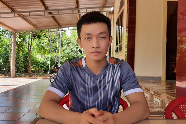 Quảng Trị: Chàng phụ bếp 3 lần thi, 2 lần được điểm 10 Địa lý quyết chạm tay vào ước mơ thành sĩ quan